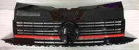 Решетка радиатора c красной полосой VW T6