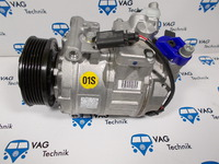 Компрессор кондиционера VW T5 GP / VW Amarok 7E0820803F