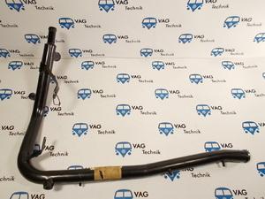 Обводная трубка металлическая ОЖ VW T4 (5цилиндров)