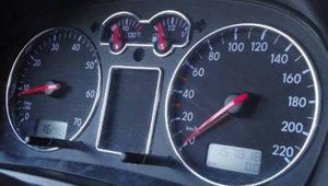 Кольца хром для приборной панели VW T4