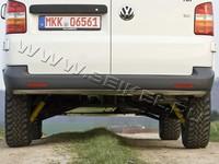 Защита заднего бампера SEIKEL VW T5