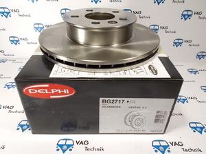 Тормозной диск передний VW T4 Delphi