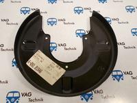 Щиток тормозного диска задний VW T4