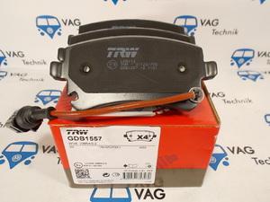 Тормозные колодки задние VW T5 TRW
