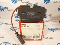 Тормозные колодки задние VW T4 TRW