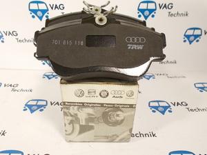 Тормозные колодки передние VW T4 (не вент. диски)