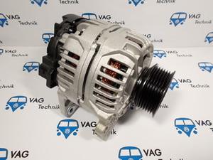 Генератор VW T4 (5 цилиндров) круглый разъем