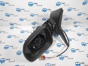 Корпус зеркала с механизмом VW T5GP VAG OE