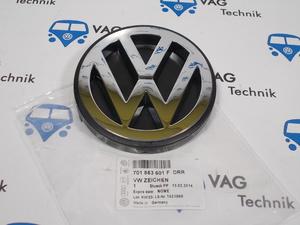 Эмблема (Значок) на заднюю дверь VW T4 хром