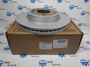 Тормозной диск передний VW Amarok (оригинал)