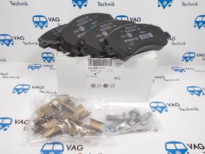 Тормозные колодки передние VW Amarok (оригинал)
