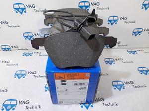 Тормозные колодки передние VW T4 ATE 313мм