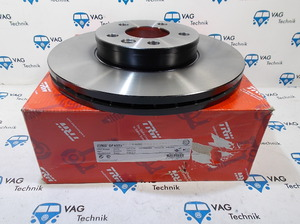 Тормозной диск передний VW T4 TRW 300мм.