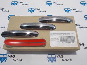 Комплект накладок ручек дверей VW T5