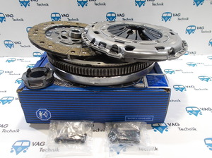 Комплект сцепления с маховиком VW T5 2.0TDI  5МКПП