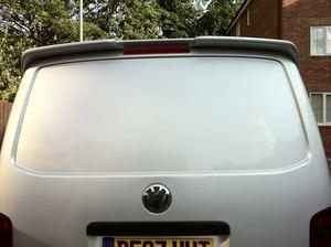 Спойлер для подъемной двери VW T5