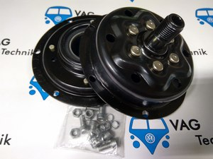 Шкив компрессора кондиционера VW T5 2.5 TDI