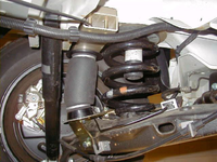 Дополнительная пневмоподвеска задней оси VW T5