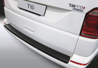 Защита заднего бампера VW T6 с подъемной дверью