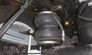 Дополнительная пневмоподвеска задней оси VW Amarok