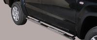 Боковые трубы DESIGN для VW Amarok из нержавеющей стали