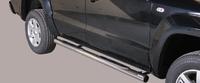 Боковые трубы со ступенями для VW Amarok из нержавеющей стали