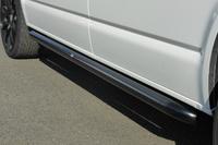 Боковые трубы черные VW T5 короткая база