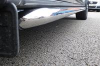 Боковые трубы полированные VW T5 короткая база