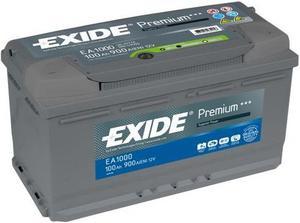 АКБ Exide Premium EA1000