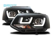 Фары передние с линзой и LED VW T5GP (комплект)