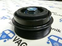 Шкив компрессора кондиционера VW Crafter 2.0 TDI