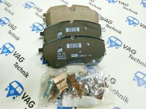 Тормозные колодки передние VW Amarok 3.0TDI V6