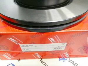 Тормозной диск передний VW Amarok (TRW)
